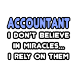 Funny accountant t-shirts and apparel, funny gifts for accountants