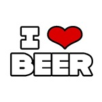 'I Love Beer' shirts and gifts