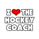 'I Love The Hockey Coach' shirts and gifts