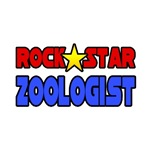 'Rock Star Zoologist' zoology shirts and gifts