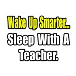 '...Sleep With a Teacher' funny teacher shirts and gifts