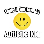 'Smile if you love an Autistic Kid' Shirts and Gifts