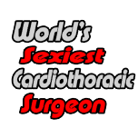 Fun shirts and gifts for cardiothoracic surgeons.